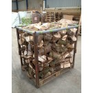 Hardwood Logs - Dumpy Bag Approx 1m3 - Delivery to ZONE 2